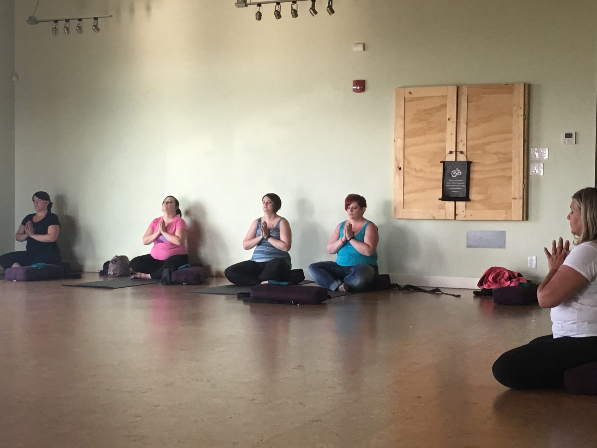 Surrogacy Sisterhood Yoga Class