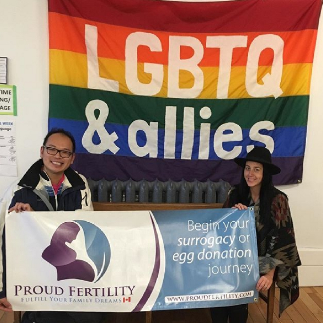 LGBTQ Allies and community with Proud Fertility
