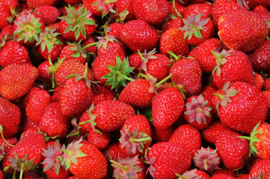 Canadian Surrogate Moms love to eat strawberries at birth