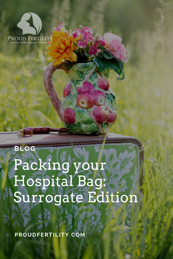 Pin it _ Packing a Hospital Bag_ Surrogate Edition _ Proud Fertility Egg Donation and Surrogacy in Canada