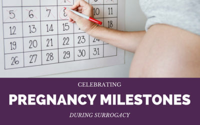 Celebrating Pregnancy Milestones During Surrogacy