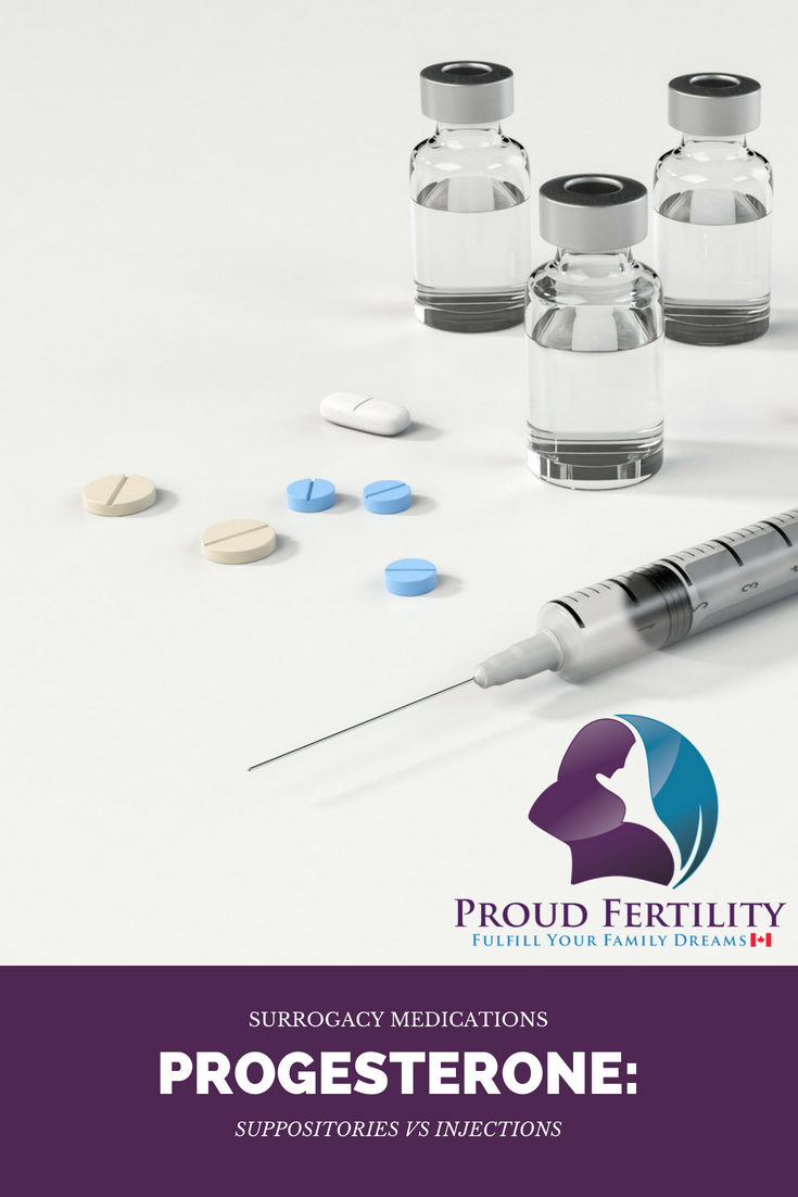 Progesterone: Suppositories vs  Injections | Proud Fertility