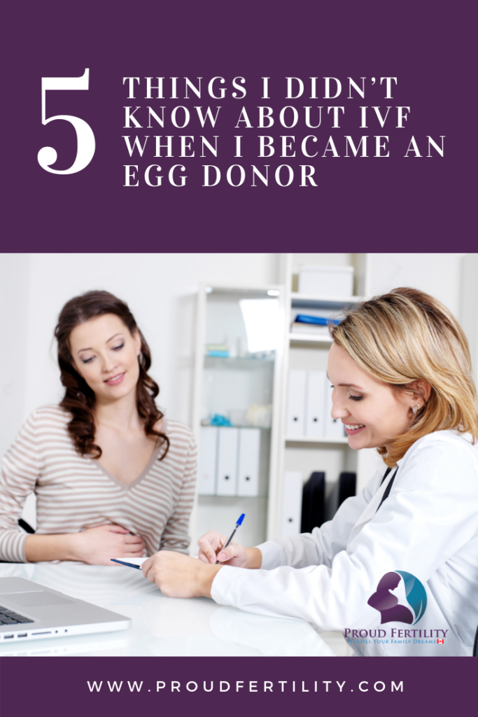 Pinterest - 5 Things I Didn't Know About IVF When I Became an Egg Donor - Proud Fertility Egg Donation and Surrogacy in Canada