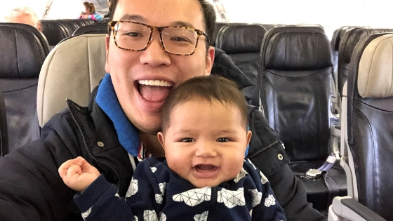Best Things About Being a Single Dad _ Traveling with Baby